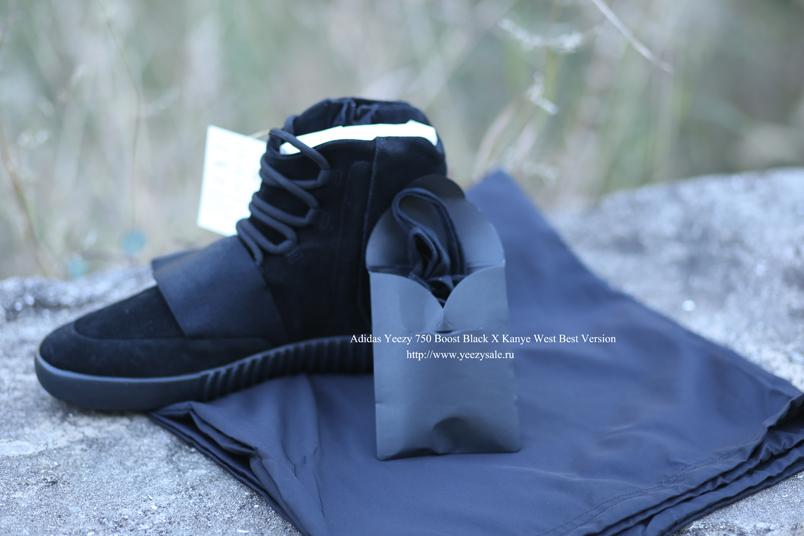 Better Version Yeezy 750 Boost Black X Kanye West In Stock AYCL001254