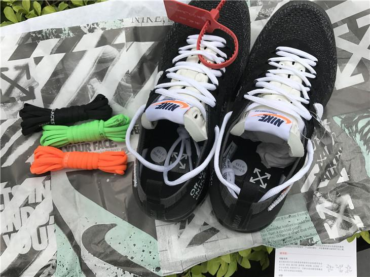 OFF-WHITE x Air Vapormax Black