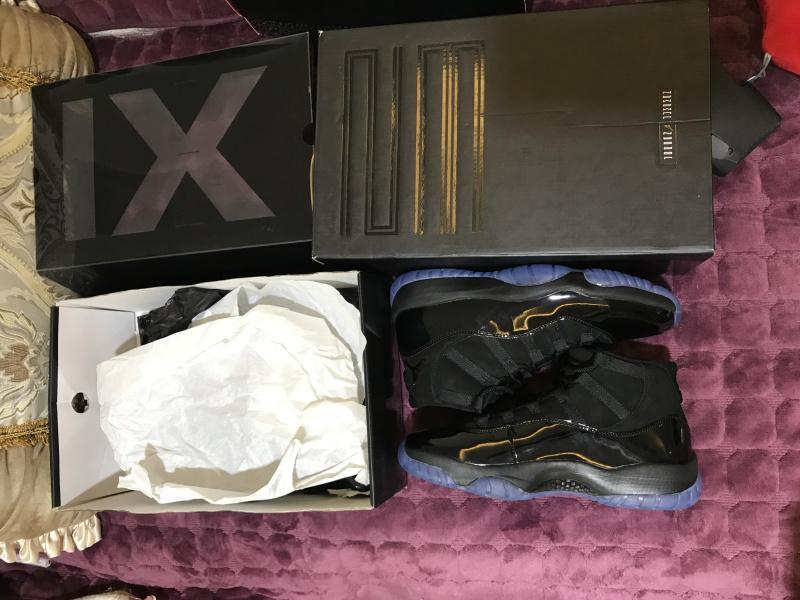 Air Jordan 11 Blackout 378037-005 Sale