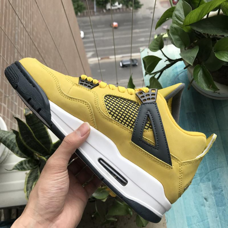 Air Jordan 4 lightning LS AJ4 314254-702 For Sale