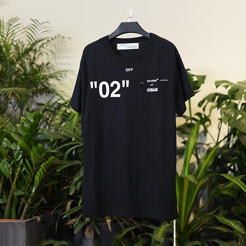 Off White 18SS Black For All 02 T-shirt Online Sale