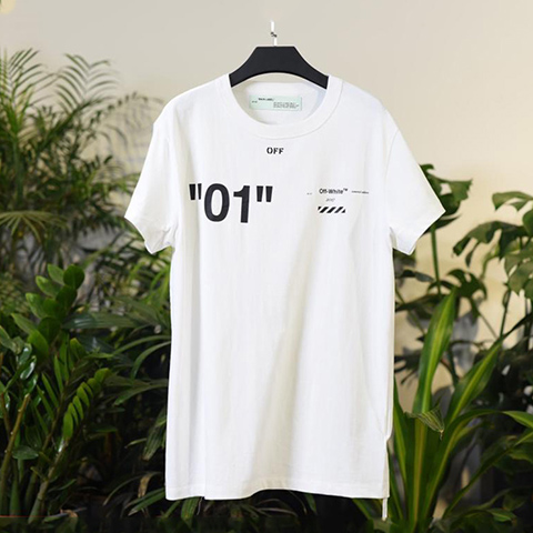 Off White 18SS White For All 01 T-shirt Online Sale