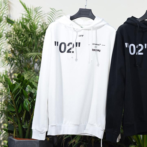 Off White 18SS White For All 02 Hoodie Sweatshirts Online Sale