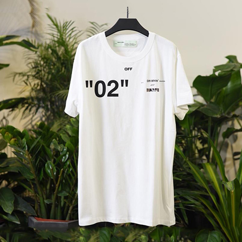 Off White 18SS White For All 02 T-shirt Online Sale