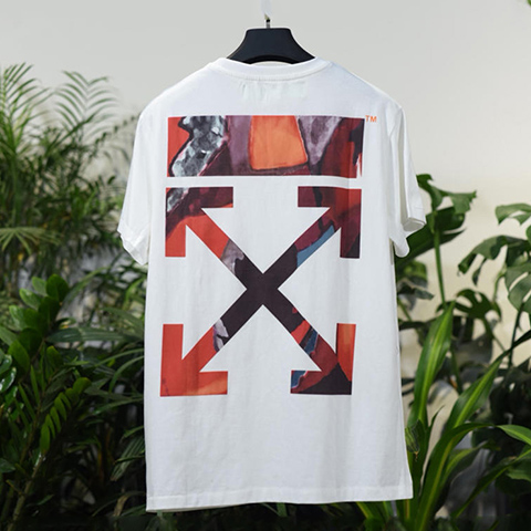 Off White 18SS White HongKong Limited Arrows Tshirt Online Sale