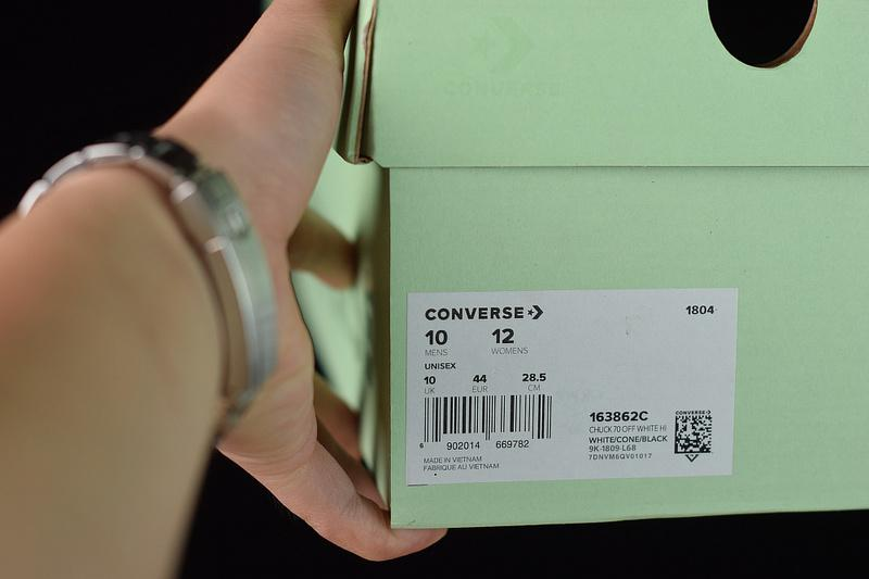 Off-White Converse Chuck 70 Stripe For Sale