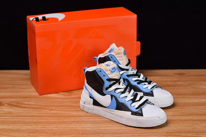 Sacai X Blazer with Dunk Mid High Quality Released