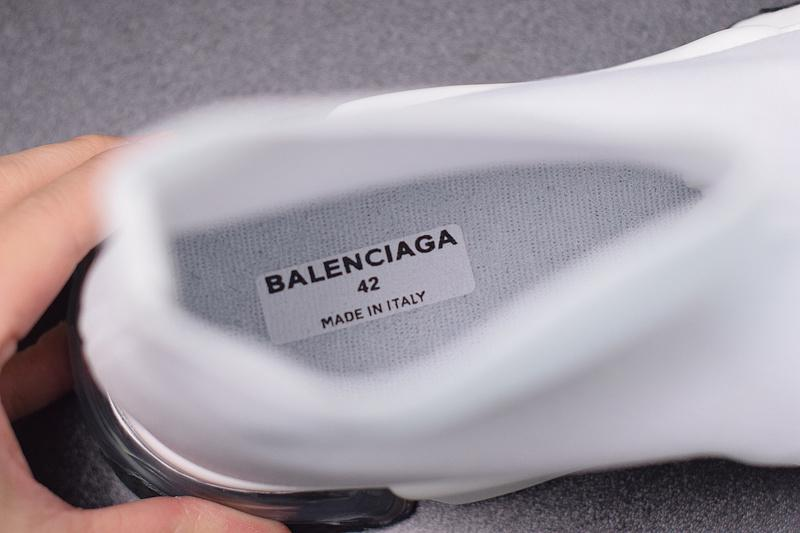 Balenciaga Speed Runner White For Sale