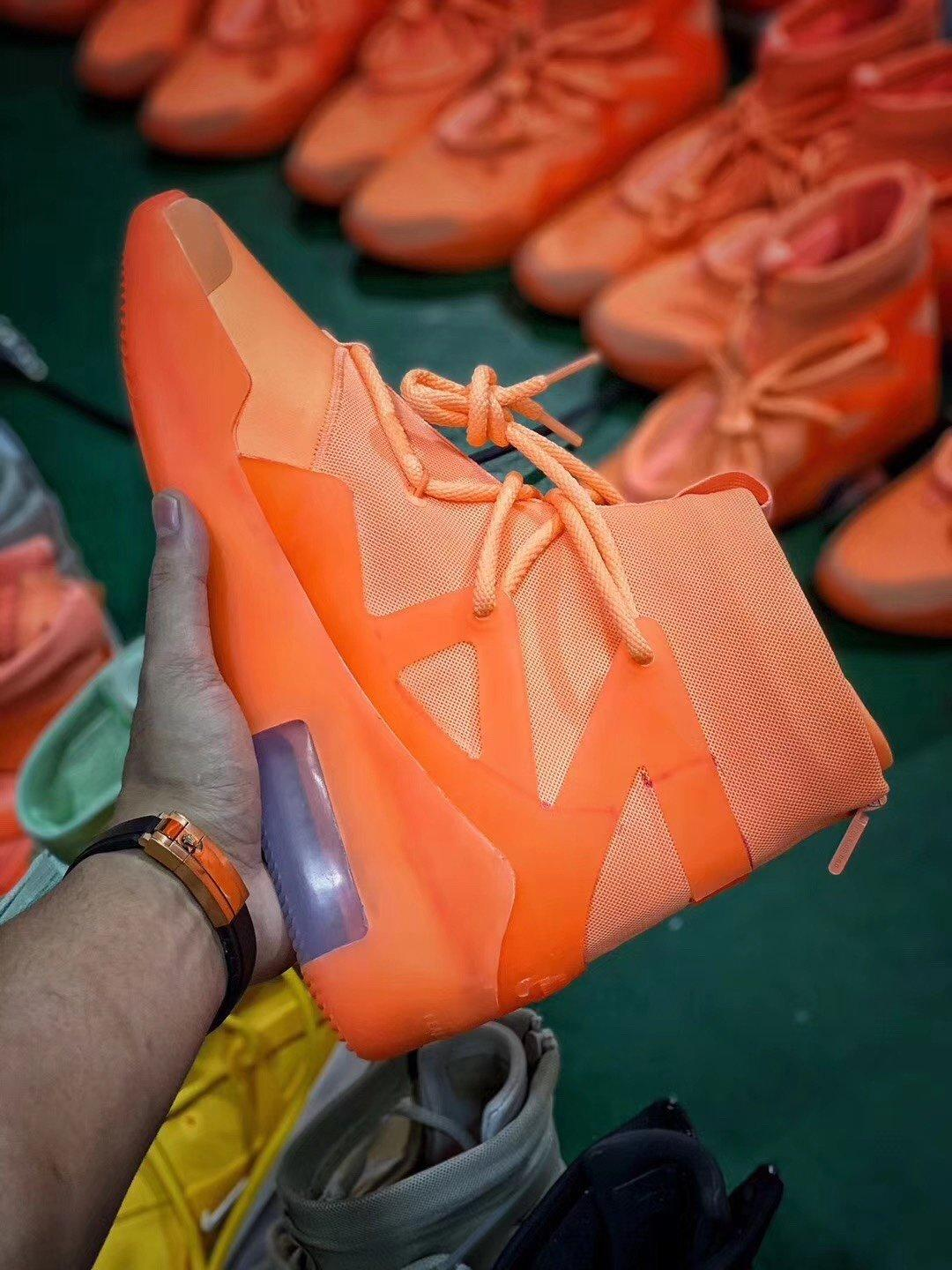 NK Air Fear of God 1 Orange Perfect Version Released