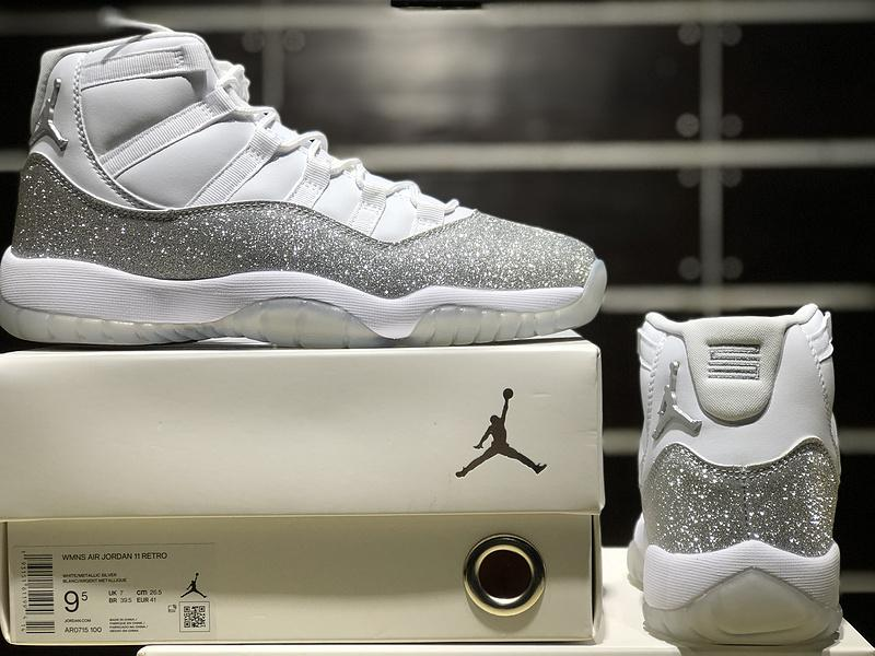 Air Jordan 11 WMNS Metallic Silver AR0715-100 Sale