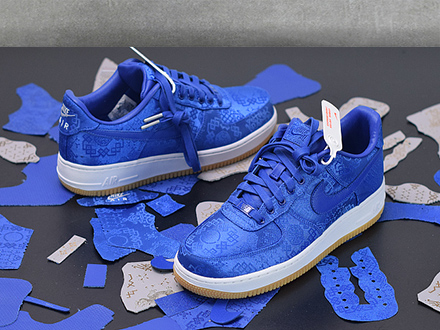 Fragment Clot x Air Force 1 PRM Game Royal