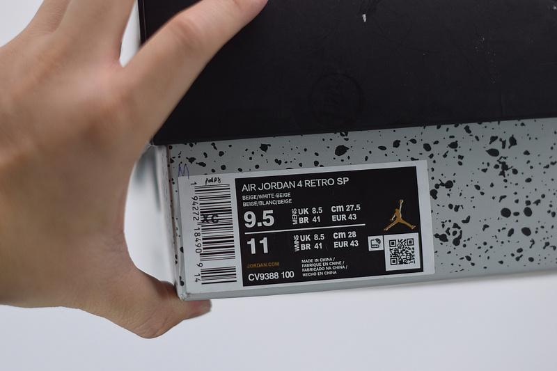 Off-White x Wmns Air Jordan 4 SP Sail CV9388-100 Sale