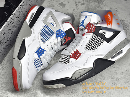 Air Jordan 4 Retro SE What The 4 CI1184-146 Released Sale