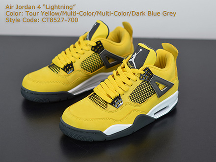 Air Jordan 4 Retro LS Lightning 314254-702 Released