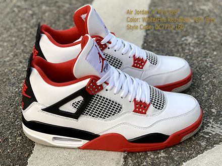 Air Jordan 4 Retro OG Fire Red 2020 DC7770-160 Released Sale