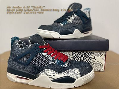Air Jordan 4 Retro SE 'Sashiko' CW0898-400 Released Sale