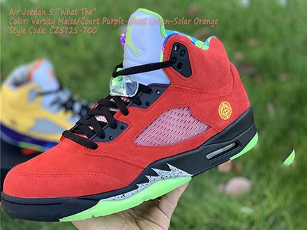 Air Jordan 5 Retro SE What The CZ5725-700 Released Sale