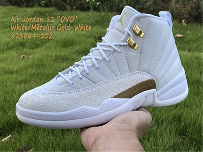 OVO x Air Jordan 12 Retro White 873864-102 Released