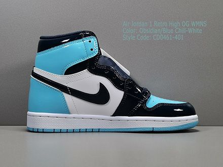 Wmns Air Jordan 1 Retro High OG Blue Chill CD0461-401 Released Sale