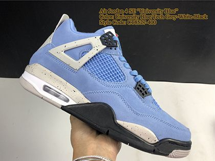 Air Jordan 4 Retro University Blue CT8527-400 Sale