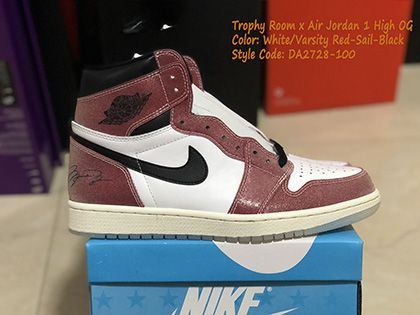 Trophy Room Air Jordan 1 Chicago High OG DA2728-100 Released