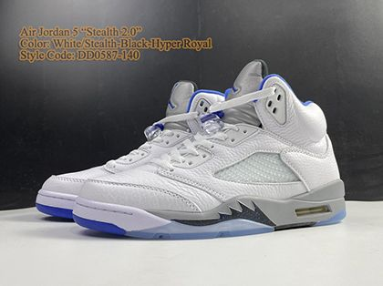 Air Jordan 5 Retro Stealth 2.0 DD0587-140 White Sale